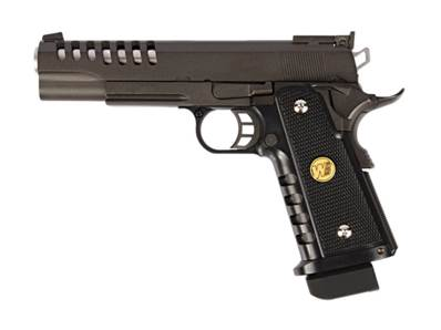 WE Hi-Capa 5.1 K Noir GAZ Blowback 0.9J