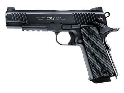 Colt M45 CQBP 4.5mm (.177) bb Noir Métal Co2 Blowback 1.5J