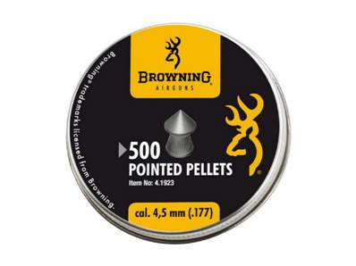 Browning Plombs pointus 4.5mm (.177) (x500)