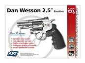 "Dan Wesson 2.5"" 4.5mm Chrome CO2 2J"