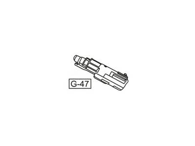 WE G-Series Pièce G-47 Nozzle G17 / G19 / G27 COMPLET