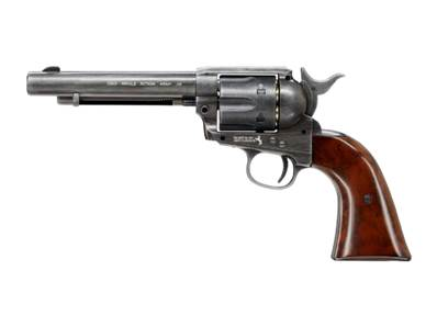 Colt 45 Peacemaker Saa 4.5mm (.177bb) Métal Vielli CO2
