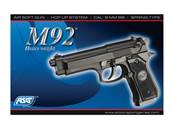 ASG M92f Heavyweight Noir SPRING 0.2J