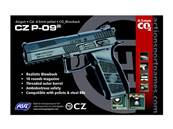 CZ P-09 4.5mm Noir CO2 Blowback 3.7J