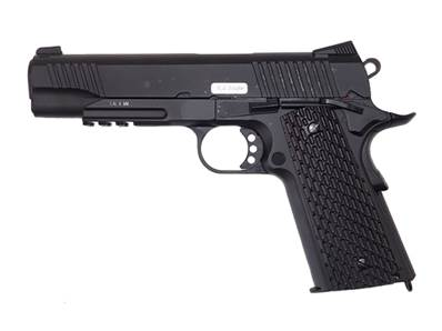 KWC 1911 Rail Noir CO2 Blowback 1.4J