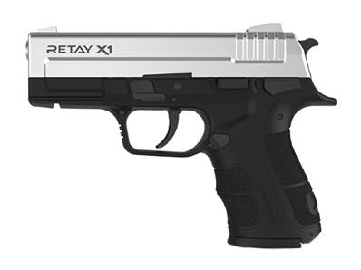 Retay X1 9mm P.A.K Chrome Mate