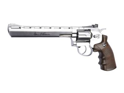 "Dan Wesson 8"" Chrome 4.5mm CO2 3J"