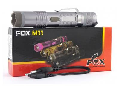 Shocker Fox M11 chrome Power max lampe accu rechargeable