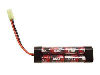 EP Batterie Nimh 9.6V 1600 mAh mini 8 élements