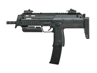 HK MP7a1 SWAT BK AEP Fixe + Silencieux Pack complet 0.5J