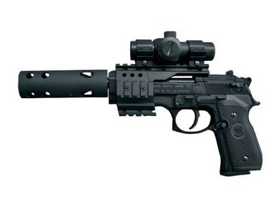 Beretta M92 FS XX-Treme 4.5mm (.117) Noir CO2 Fixe 3.5J
