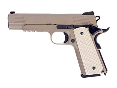 WE 1911 Kimber Style Tan GAZ Blowback 0.9J
