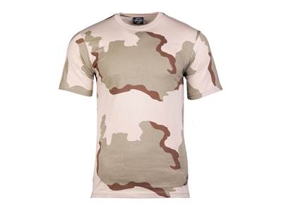 T-Shirt camouflage Desert (3 couleurs) Taille L