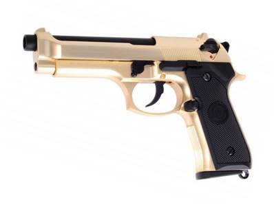 WE M92 Gold GAZ Blowback 0.9J